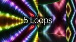 Flashing Lights Wall VJ Colorful Stage Loops