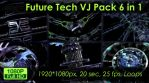 Future Tech VJ Loops Pack