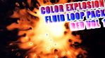 12 x COLOR EXPLOSION FLUID LOOP PACK VOL1 - RED