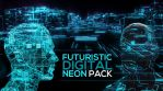 Futuristic Digital Neon Pack