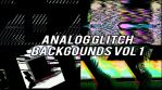 Analog Glitch Backgrounds Vol 1