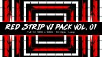 Red Strip VJ pack Vol. 01