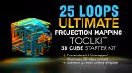 Cubes 3D Projection Mapped Loops Starter Toolkit