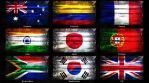 Marijuana Flag Grunge 3 in 1 - 9 Countries Pack 2