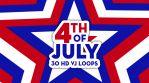 4th of July -  VJ Loops Pack