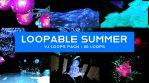 Loopable Summer VJ Loops Pack