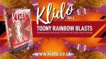 Klido Vol.X - 4K Toony Rainbow Blasts - Kaleidoscopic Video Pulses