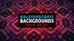 Pack of 3d Kaleidoscopic Backgrounds Loops