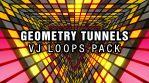 Geometry Tunnels - VJ Loops Pack