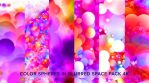 Color Spheres in Blurred Space Pack