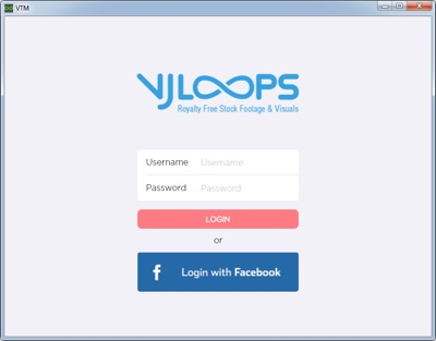 Downlaod Manager Sample Login Page
